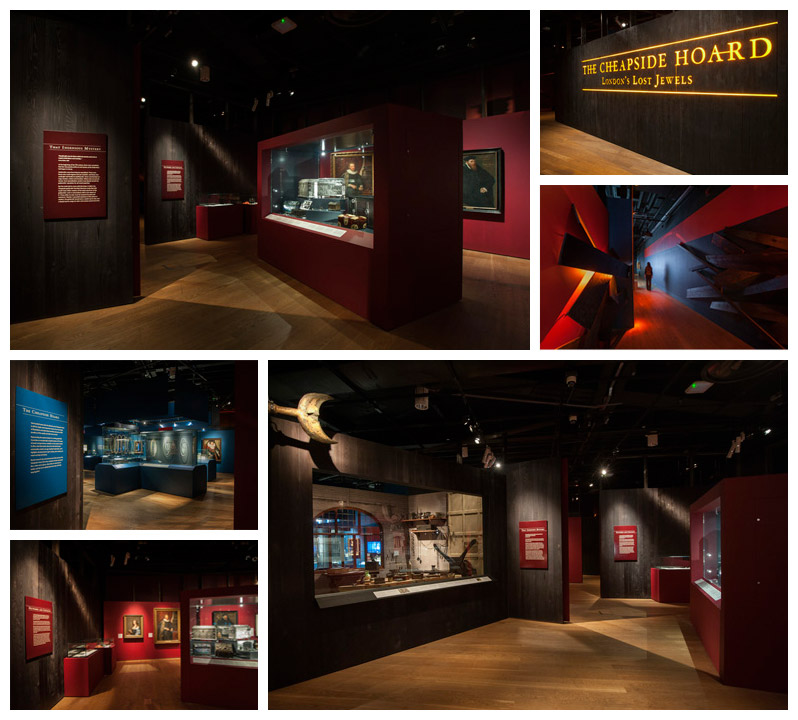 London Museum Exhibition Design